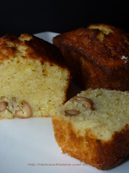 mini cakes citron-amande