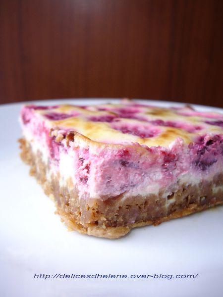 cheesecake ricotta-framboise (1)