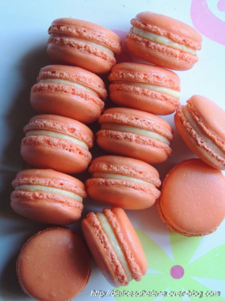 macarons mangue-passion (1)