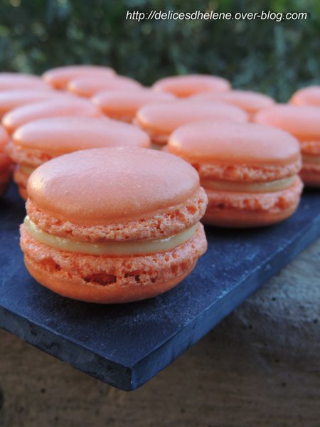 macarons mangue-passion (2)