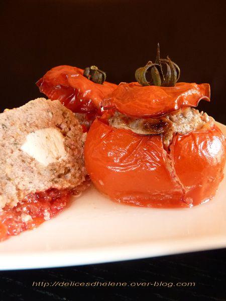 tomates farcies coeur de chèvre (4)