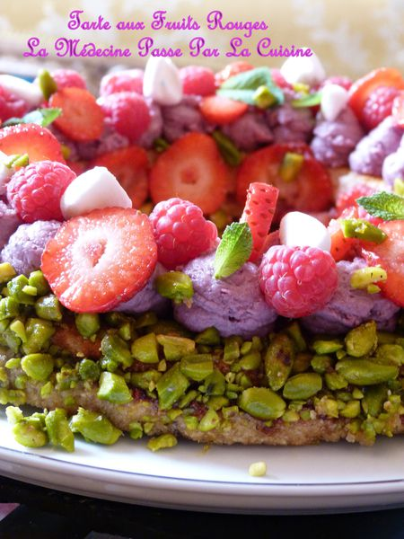 tarte fruits rouges marcoli