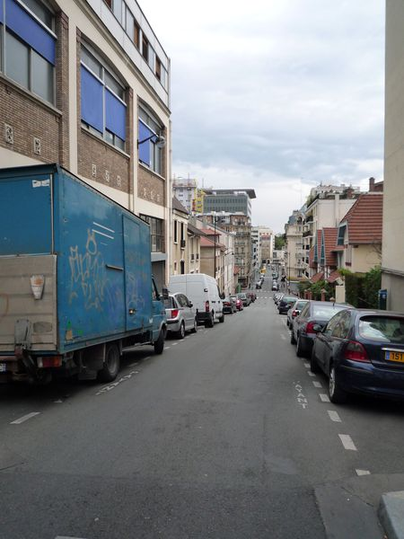 Rue Daviel - vue d'ensemble