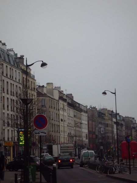 Vue d'ensemble rue d'Aubervilliers