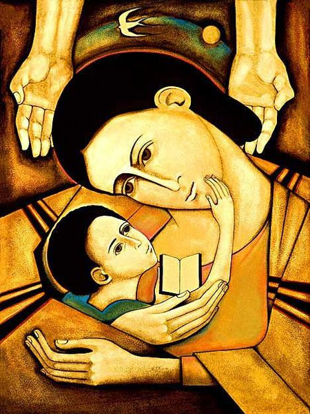 Mother-and-Child-reading-the-Word--Michael-D.-O-brien.jpg