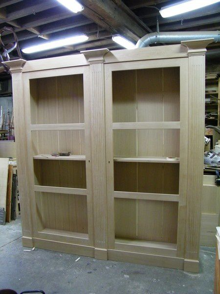 cr ation biblioth que en bois et cloison vitr e pour marionnettes indon siennes 1 re partie. Black Bedroom Furniture Sets. Home Design Ideas