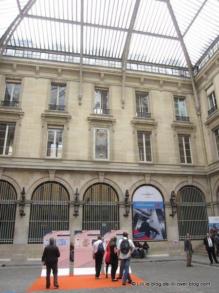 Journ es du patrimoine visite de la banque de france for Visite de jardins en france
