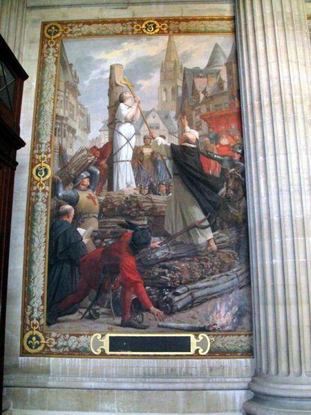 28.Le Panthéon Peinture