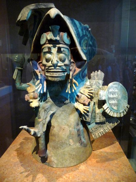Mexico Musée Statue qui fait peur
