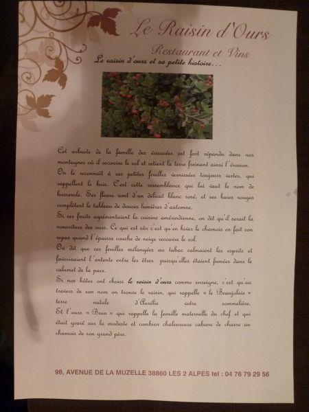 raisin d'ours 4