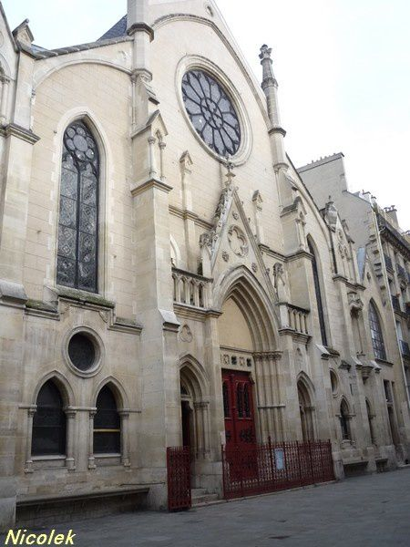 Ile de France -Paris -Eglise Sainte Cécile