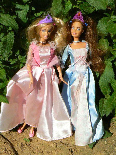 Anne Liese Et Erika De BARBIE Coeur De Princesse