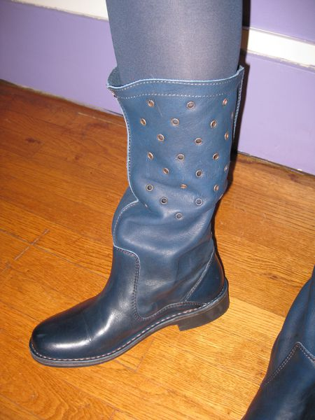 Boots oeillets