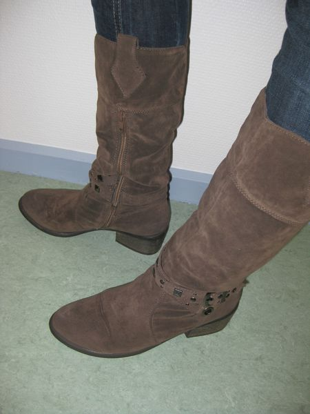 bottes cloutees taupe (5)
