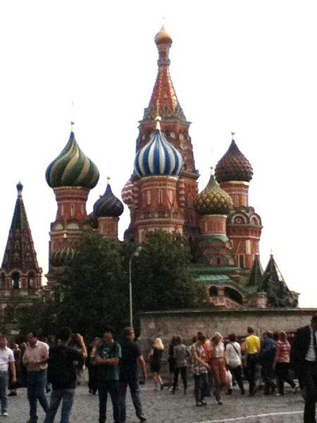 Moscou place ,st basile