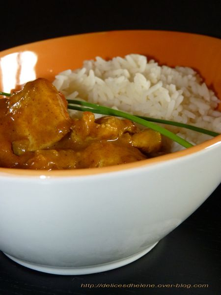curry de poulet minute 1