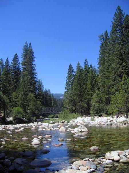 Yosemite rivière