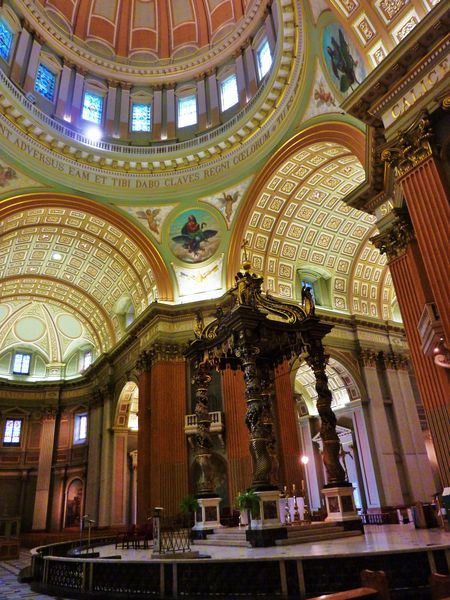 Montreal Cathédrale Marie Reine du Monde choeur