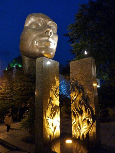 Québec monument statue b