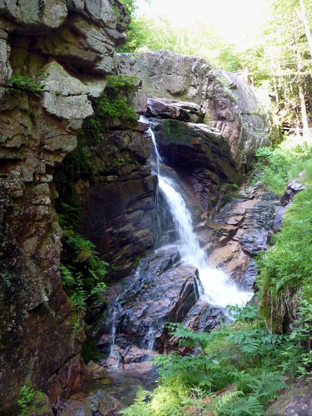 White Mountains Flume Gorge Avalanche Falls