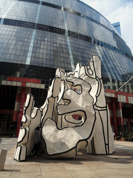 Chicago Sculpture Dubuffet