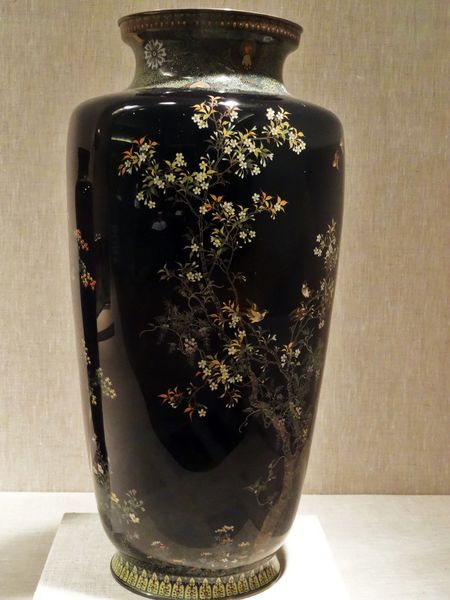 Chicago Art Institute vase Japon 20th