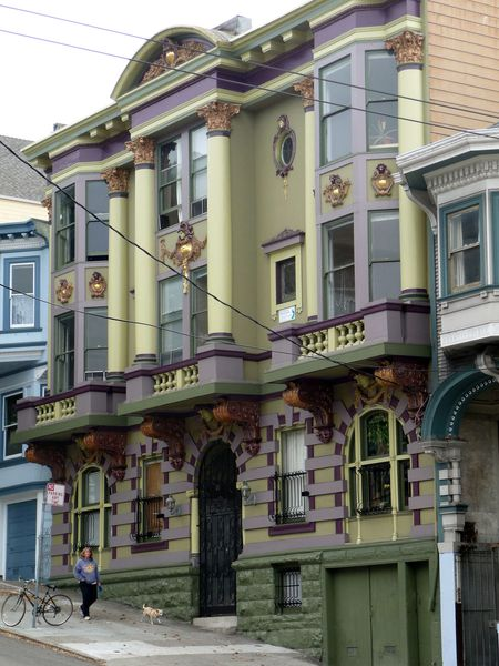 San Francisco Haight Ashbury Maisons 2