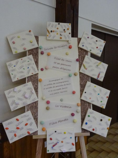 D co de mariage sur le th me de la gourmandise l for Deco table gourmandise