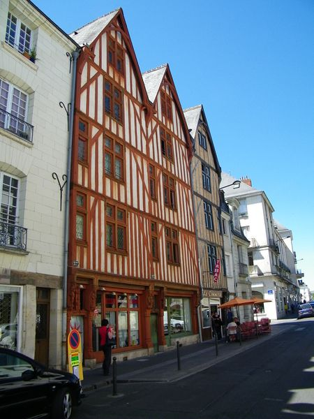 1425 Half-timbered houses, rue Colbert, Tours