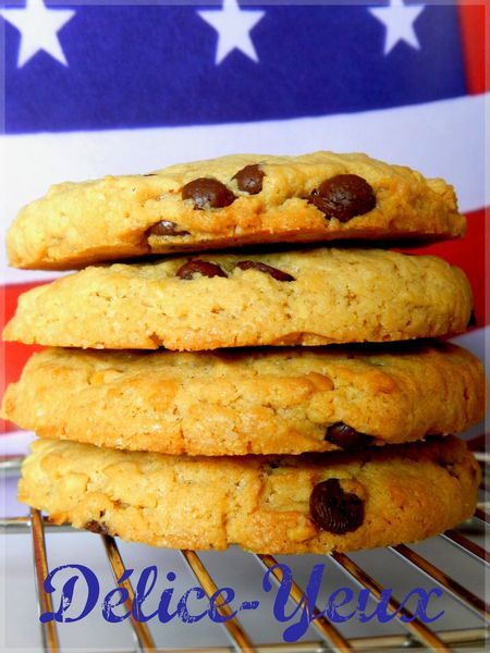 Cookies chocolat &amp; beurre de cacahutes 2
