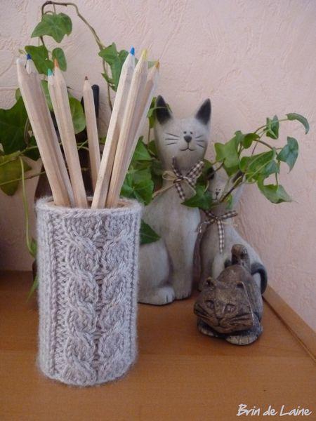 Defi13 Pot à crayon