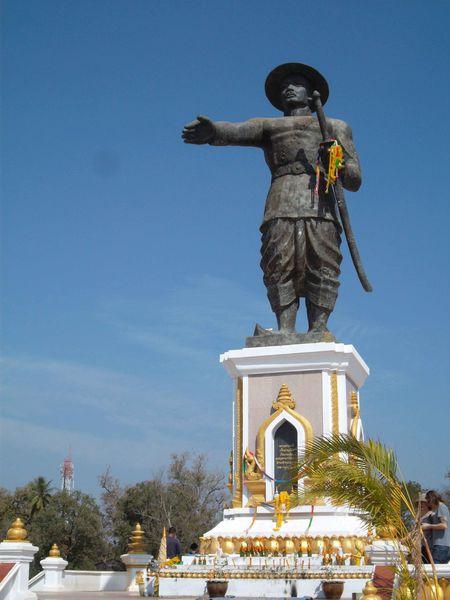 Vientiane statue