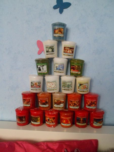yankee candles christmas