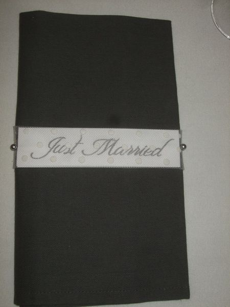 TABLE JUST MARRIED ( noce de perle ) 008