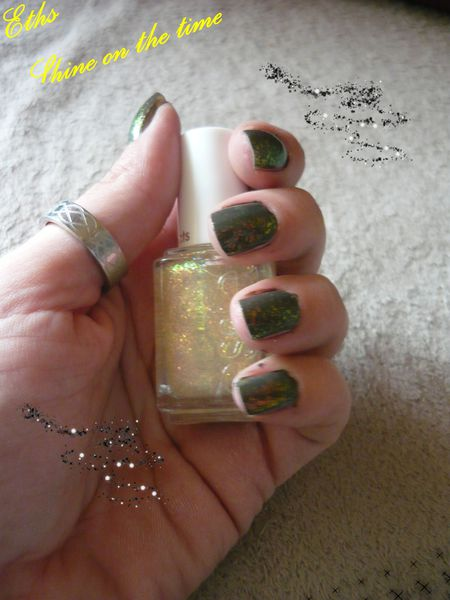 Essie Shine on the time 2 couches