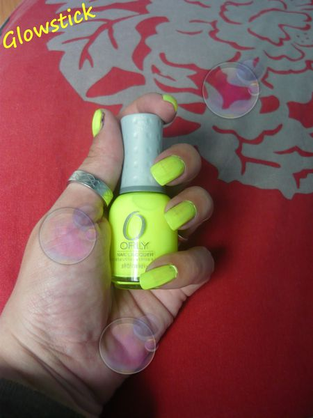 Orly Glowstick collection feel the vibe 2 couches