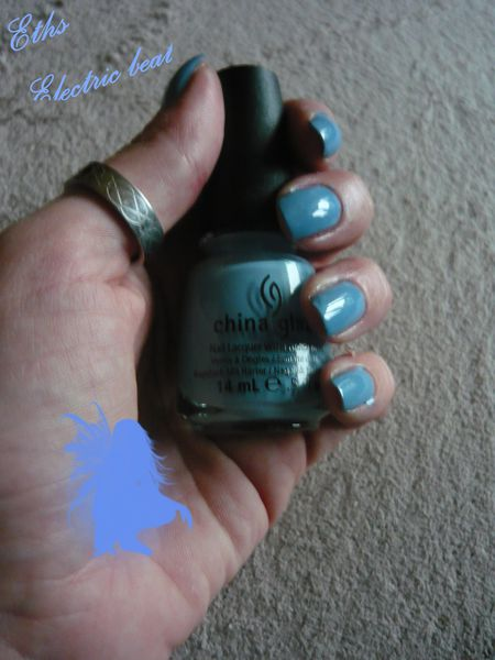 china glaze Electric beat 1031 Electropop1 couches