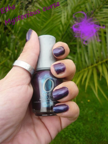 Orly Mysterious curse collection Dark shadow 2 couches