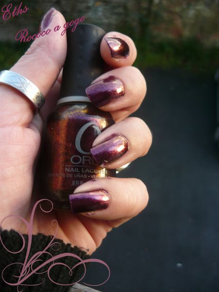 Orly Rococo a gogo collection mineral fx 2 couches
