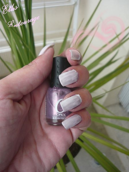 Orly mini entourage 2 couches + blanc