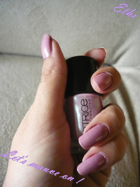 catrice 140 Let's mauve on ! 2 couches