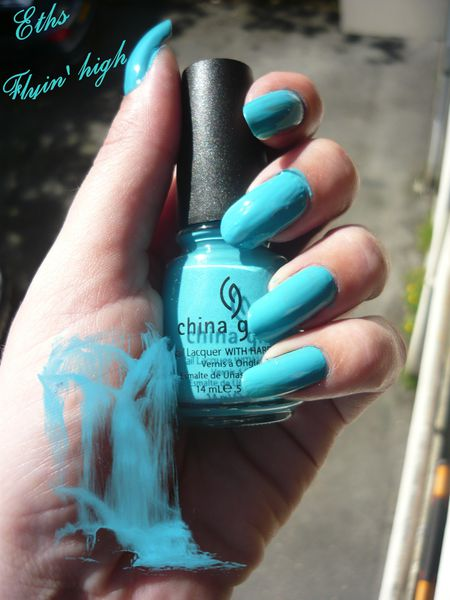 china glaze Flyin' high 865 collection Up & away 2 couches