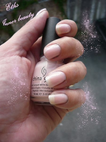 china glaze Inner Beauty 616 collection blush 3 couches