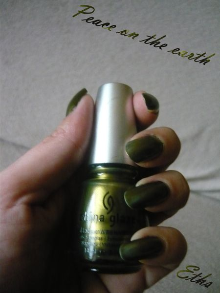china glaze Peace on the earth 887 collection til this seas