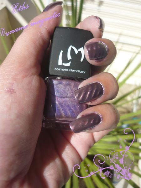vernis LM cosmetic Dynamo collection magnetic 2 couches aim
