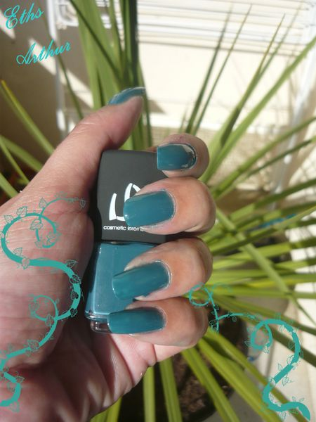 vernis LM cosmetic arthur collection Broceliande 2 couches