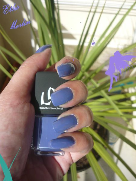 vernis LM cosmetic merlin collection Broceliande 2 couches