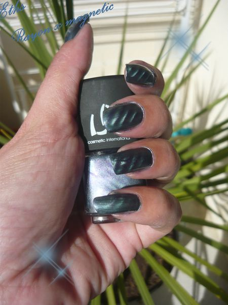 vernis LM cosmetic rayon x collection magnetic 2 couches a