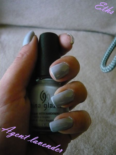 China glaze Agent lavender N°684 collection operation colo