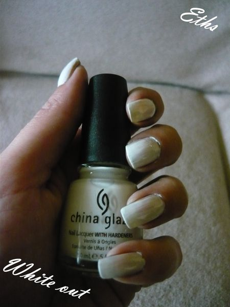 China glaze White out n°545 collection patent leather in t